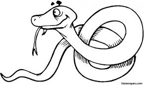 Small Picture Free Coloring pages of jungle Snake printable Printable Coloring