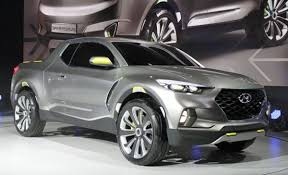 2018 hyundai truck. unique truck as we said 2018 hyundai santa cruz is a soft and rounded truck with the  slightly redesigned front end from last similar model hyundai ridgeline throughout hyundai truck trucks reviews 2017
