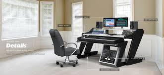 home studio desk workstation furniture unique home studio desk design