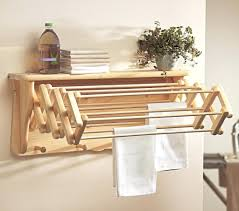 Hanging Wooden Clothes Drying Rack Nz Bed Bath Beyond Wall Mounted  Expandable Uk. Wall Mounted Wooden Expandable Clothes Drying Rack Uk Amazon  Diy.