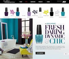 Clark And Kensington Opi Color Chart Color Trend Yotrio Blog