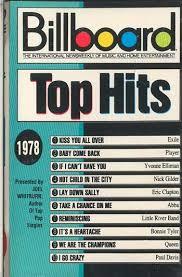 Billboard Charts 1978 Top 100 Billboard 1978 Billboard Top Hits 1978 Audio Cassette