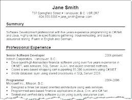 Resume Summary Examples Custom Example Of Resume Summary Resume Tutorial