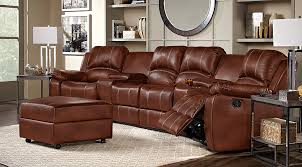 brown leather sectional couches. Shop Now Brown Leather Sectional Couches L
