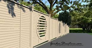 fence design. A 3D Fence Design In Burlington