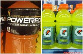 Powerade Vs Gatorade Electrolytes Sugar Differences