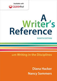 rules for writers mla update edition by diana hacker a writer s reference writing in the disciplines