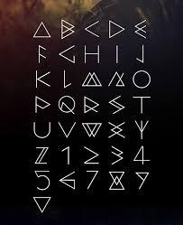 15 Geometric Fonts Otf Ttf Download