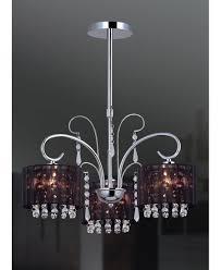 Moderner Kronleuchter Moderne Lampen Schwarz Chrom 12990
