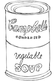 Small Picture Andy Warhol Soup Can Template Image Gallery HCPR