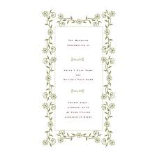 Microsoft Wedding Program Templates Free Wedding Program Templates De Stress Your Wedding Planning