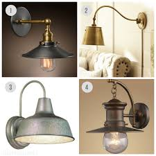 industrial inspired lighting. Alluring Industrial Wall Sconce Lighting Sconces The Inspired Room Sources B