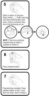 Chamberlain Klik1u Compatibility Chart How To Program The Chamberlain Garage Door Remote Klik1u