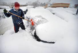 Snowfall Blizzard Led String Light Noreaster May Bring Up To 14 Inches Of Snow The Boston Globe
