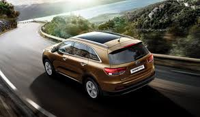 new car releases in south africa 20162016 Kia Sorento rear three quarter launched in South Africa
