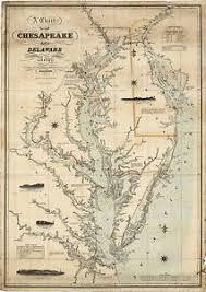 Chesapeake Bay Maps Charts Details About 1862 Coast Survey Map Chart Chesapeake Delaware Bay Art Poster Print Wall Decor