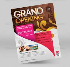 pictures of flyers invite of mayoral inauguration grand opening flyer template 43 free psd ai vector eps format