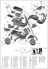 vespa scooter iged parts kidswheels vespa scooter iged1050 parts iged1050 parts diagram