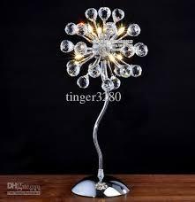 Amazing Wholesale And Retail Modern Minimalist Living Room Bedroom Bedside Table  Lamp Crystal Lamps Crystal Lamps Bedroom Lamps D220MM H480MM