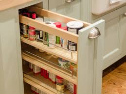 How To Make A Kitchen Cabinet Kitchen Pull Out Spice Rack For Deliver More Goods To You