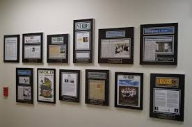 framing covers how to display newspaper or articles with frames ideas