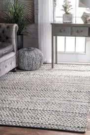 indoor outdoor rugs 8 10 inspirational rugs usa silver mentone reversible striped bands indoor outdoor