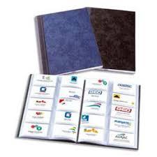 cartes des visites classeurs pour cartes de visite elba achat vente de classeurs