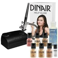 image is loading dinair airbrush makeup starter kit fair shades foundation
