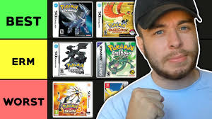 Ranking EVERY Pokemon Game From Best To Worst - YouTube