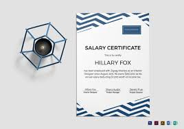 11+ Salary Certificate Examples & Samples