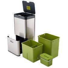 Designer Kitchen Waste Bins Pearsonlloyd And Joseph Josephs Intelligent Waste Bins For