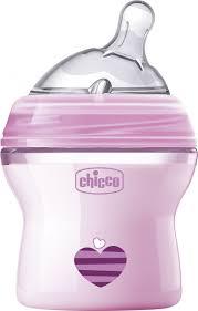<b>Бутылочка</b> для кормления <b>Chicco Natural Feeling</b> с силиконовой ...