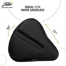 large exercise bike gel seat cover for