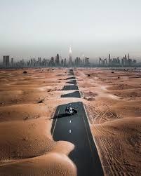 Image result for The Desert Road, U.A.E.