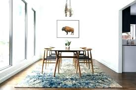 carpet tiles under dining table area rug round room rugs on sizes dinning