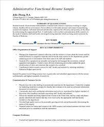 Functional Resume Pdf Sample Functional Cv 9 Documents In Pdf Word