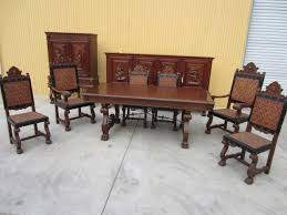 spanish antique dining set table sideboard server bar dining for amazing household spanish dining room chairs plan