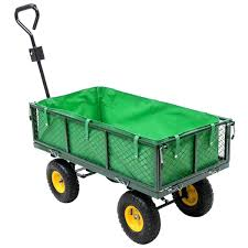 garden cart lowes. Wagon Garden Carts And Wagons Utility Outdoor Yard Lawn Buggy Trailer Steel Cart Lowes