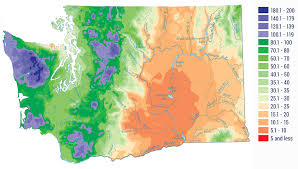 Climates The Amazingly Diverse Climate And Geography Of Washington State