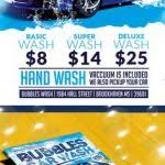 Fundraising Poster Templates Postermywall Car Wash Flyers Templates ...