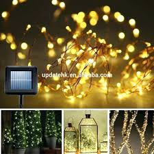 unique solar powered patio lights or exterior outside solar garden lights long outdoor string lights solar