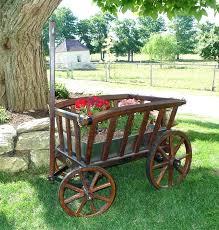 garden cart plans. Wooden Wagons Garden Goat Cart Medium Rustic Colonial Wagon Wood Plans