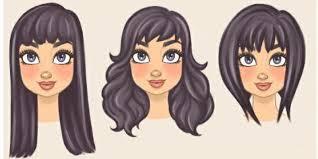účesy Pro Polodlouhé Vlasy Kulatý Obličej