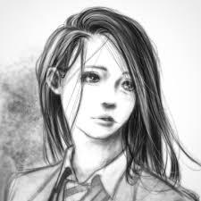 クロセシンゴ En Twitter ワンレン女子高生できあがり 絵