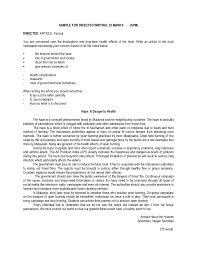 letter expressing concern sample for spm directed writing