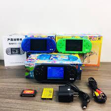 VINETTEAM Máy chơi game cầm tay CoolBaby RS-15 phiên bản thu nhỏ máy chơi  game RS-13 , máy chơi game 4 nút màn hình TFT hiển thị 3.2 inch, 280 trò  chơi
