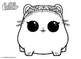 Lol Surprise Pets Coloring Pages Rolls Free Printable Coloring Pages