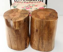 ... Large-size of Cushty Stump Table Tree Stump Side Table West Elm Cedar  Stump Inside ...