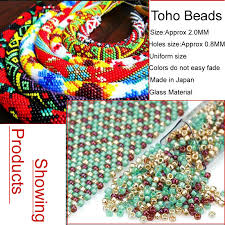 Toho Beads Color Chart Taidian Toho Beads 11 0 Glass Beads For Handcraft 3grams Lot About 300 Pieces