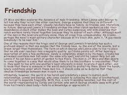 Of Mice And Men Friendship Essay Of Mice And Men Essay Friendship
